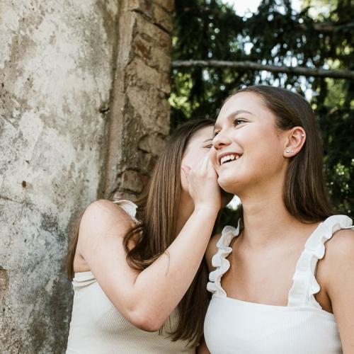 Twins-Teenager-Fotoshooting