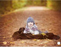 Nun sind es 5 – Familienfotografie im Herbst bei Trier