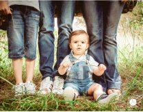 Uma família forte – Mãe, pai e dois filhos – Fotografia família em Trier